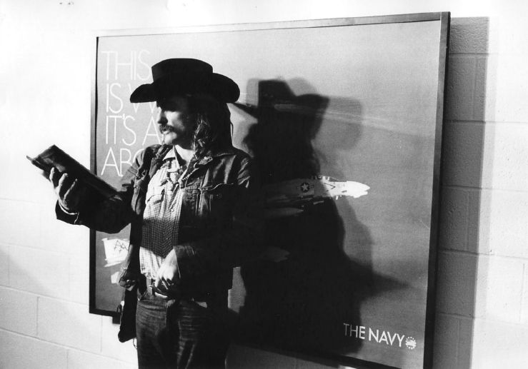 Portrait of Dennis Hopper, 1971